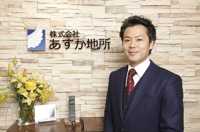 代表取締役 丸茂 龍央写真